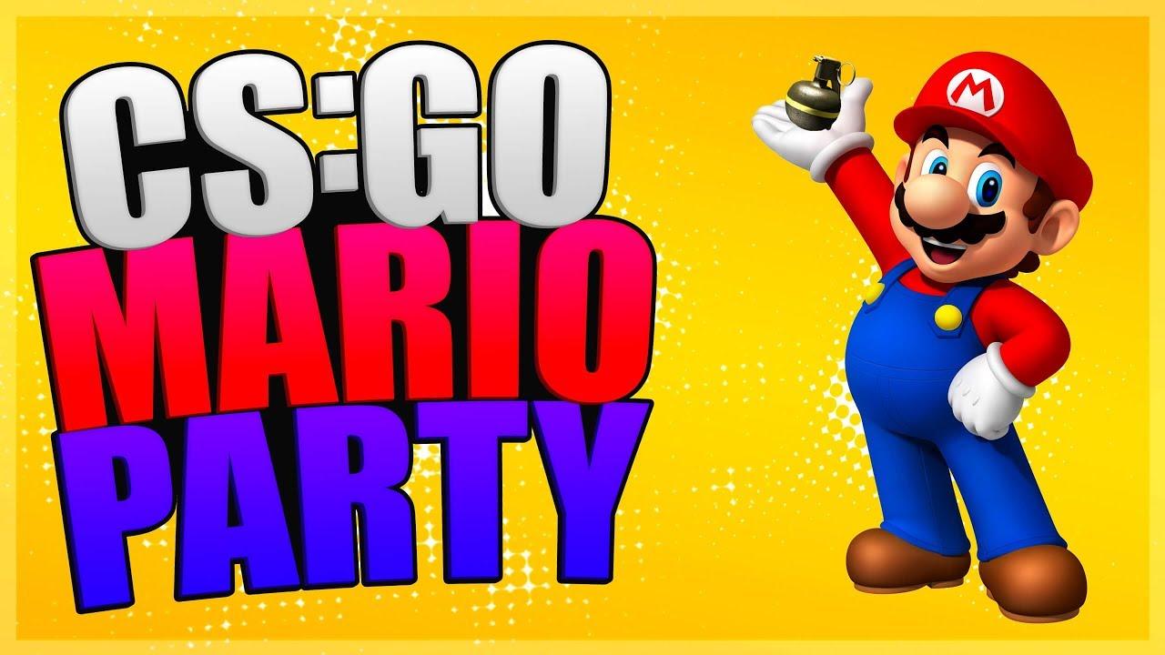 I Got Cock Blocked Csgo Mario Party Funny Moments Youtube