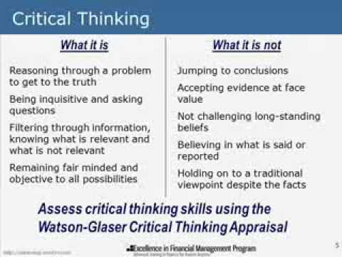 critical thinking decision making