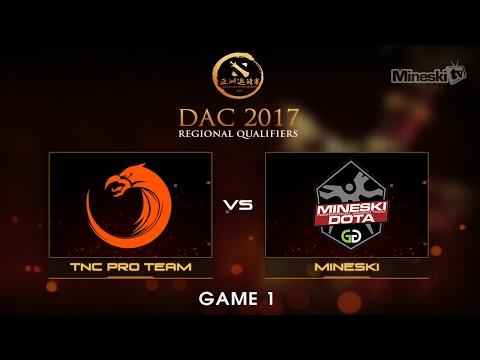 Mineski vs TNC Pro Team  | Dota 2 Asia Championship | Group Stage | Best of 3 | Game 1