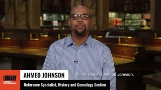 Federal Public Service Recognition Week: Ahmed Johnson