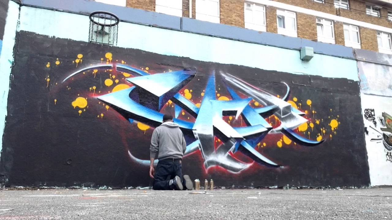Give To You London Graffiti Timelapse Youtube