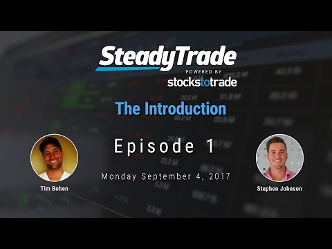 Learn How To Day Trade - Steady Trade Episode #1