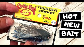 The Strike King Thunder Cricket - Close-up and Compared to the Evergreen Jackhammer - NEW FOR 2019