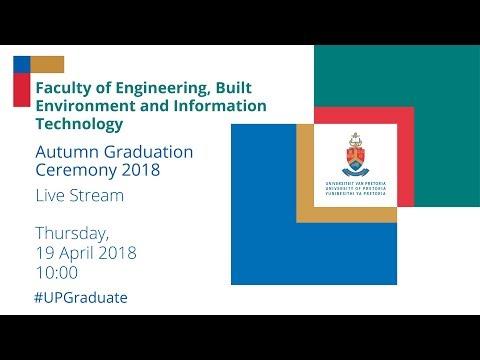 Faculty of EBIT Autumn Graduation Ceremony 10h00 19 April 2018