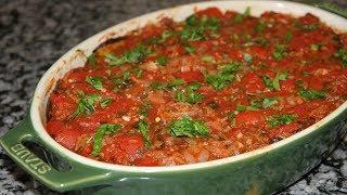 Невероятная вкуснятина из баклажан. Баклажаны в томатном соусе.Ну ооооочень вкусно!!!