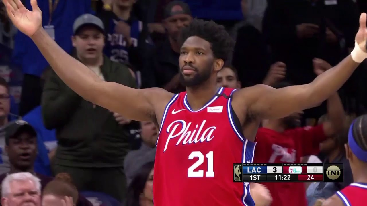 Sixers fans booed Joel Embiid during intros... and then he quickly ...