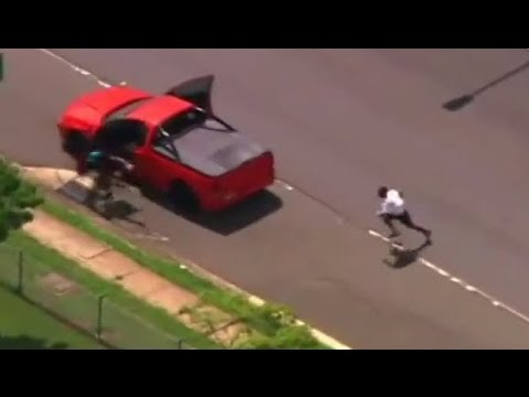 Police Chase Ute/Truck In Brisbane Australia | Police Chase Caught On Camera