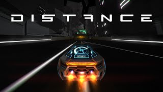 Distance (PC) - Futuristic Survival Racing! [Gameplay]