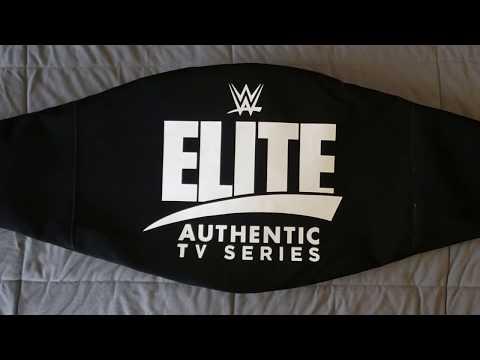 WWE Elite Authentic TV Series Championship Title Belt Review