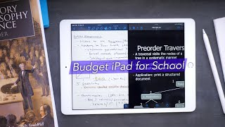 Using the Budget iPad 10.2 for School!