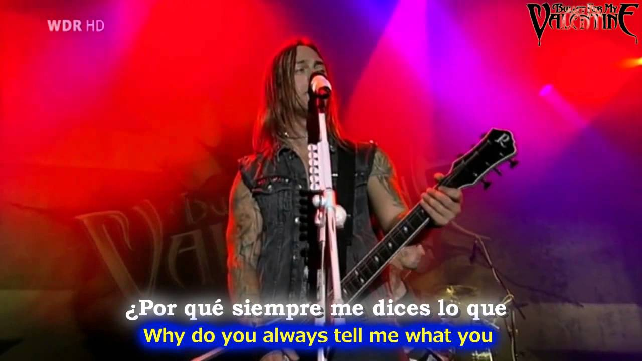 Download Bullet for my valentine - All these things I hate [Lyrics y subtitulos en Español]