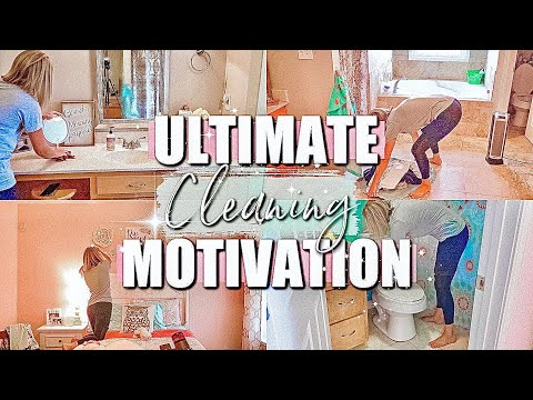 *NEW HOUSE* EXTREME CLEANING MOTIVATION|WHOLE HOUSE CLEAN WITH ME