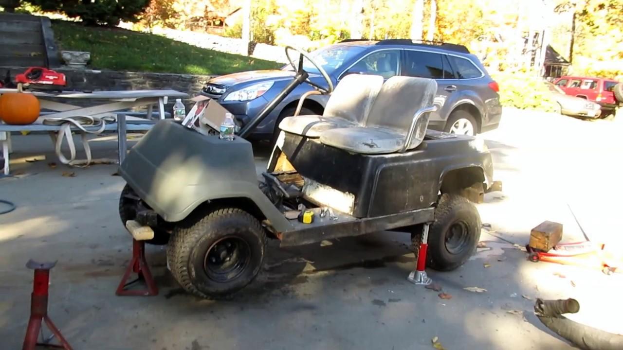 V Yamaha Drive Golf Cart