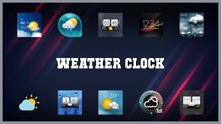 Super 10 Weather Clock Android Apps screenshot 5