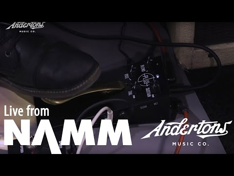 The Plus Pedal - Piano Sustain For Guitar at NAMM 2017