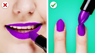 10 Creative Life Hacks For Girls! Beauty Hacks, Fashion Tricks, and Makeup Tips