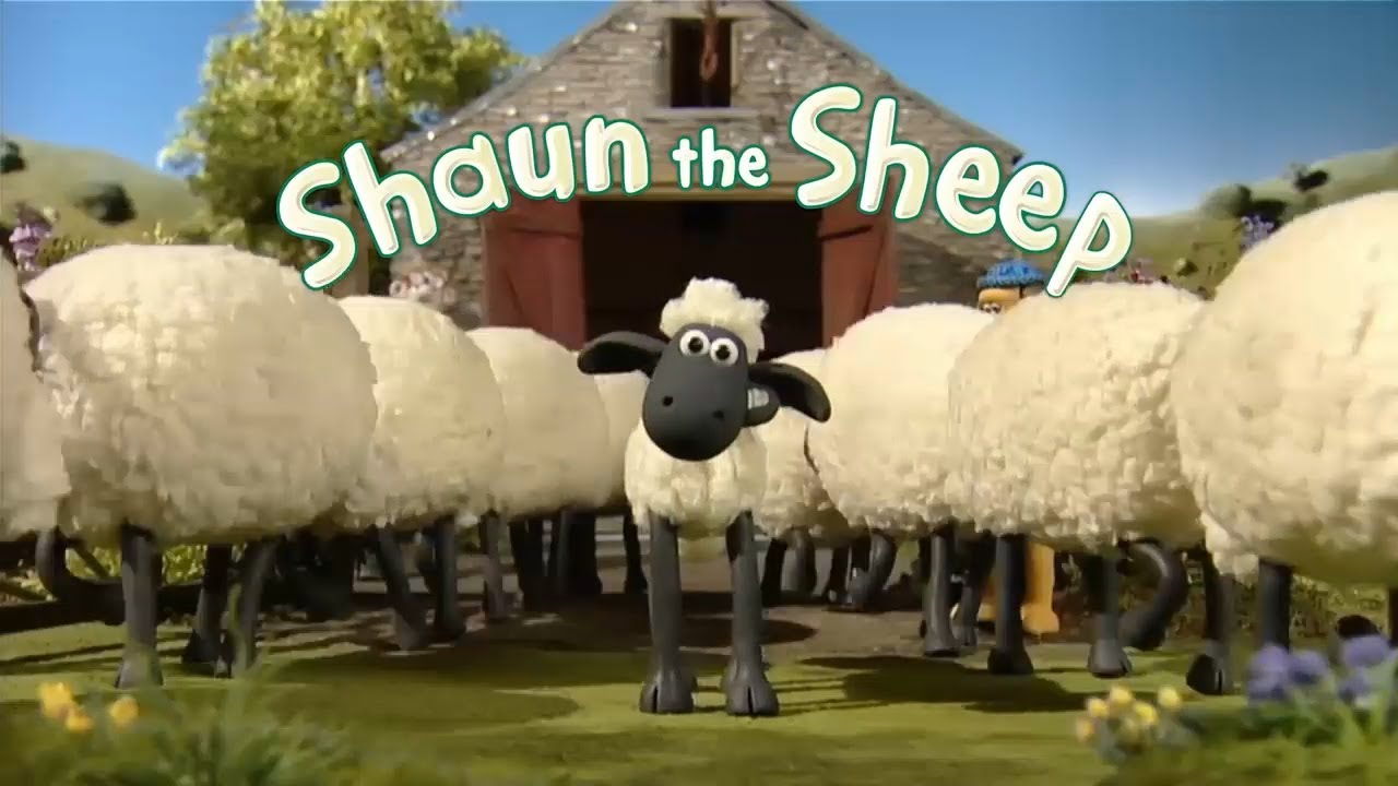 الخروف شون الموسم الأول 4 افلام كرتون اطفال بدون موسيقى Shaun The Sheep Youtube