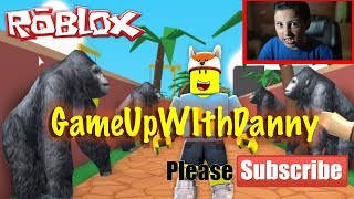 ROBLOX ESCAPE THE ZOO TYCOON !!!! GAME UP WITH DANNY