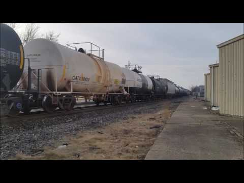 """Winter"" Railfanning in Terre Haute and Princeton IN"