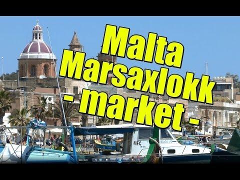 QQLX - MALTA - Marsaxlokk - FISH MARKET - 2013 - FULL HD
