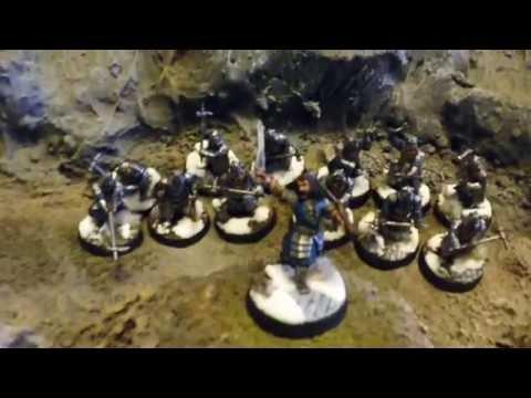 Hobbit SBG Battle Report 38 - 500 pts Moria vs Dwarves