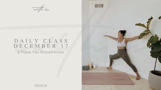 6 Postures You Should Know Part 2