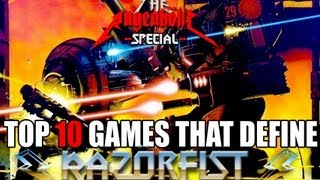 Top 10 Games That DEFINE RazörFist - The Rageaholic