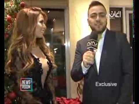 Viviane Mrad فيفيان مراد وأجواء ليلة رأس السنة في فندق الكورال بيتش