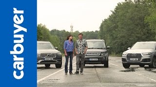 Audi Q7 vs Volvo XC90 vs Land Rover Discovery - Carbuyer