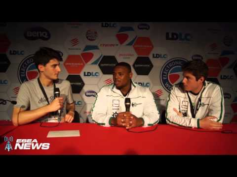 ESWC 2014 Interview: South African CS: GO Team Energy eSports Discusses Group Stage Matches