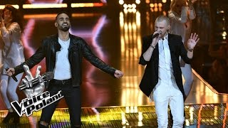 "The Voice of Poland VII – Sami Harb i Mateusz Grędziński – ""Come and Get It"" – Półfinał"