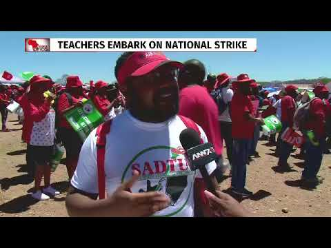 Sadtu teachers embark on strike