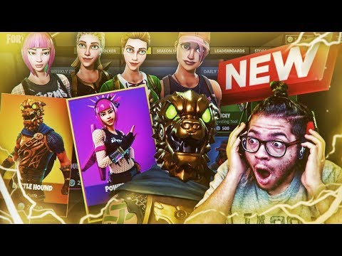 *NEW* SECRET LEAKED SKINS COMING TO FORTNITE BATTLE ROYALE! NEW EXCLUSIVE WEAPONS! THIS IS EPIC!