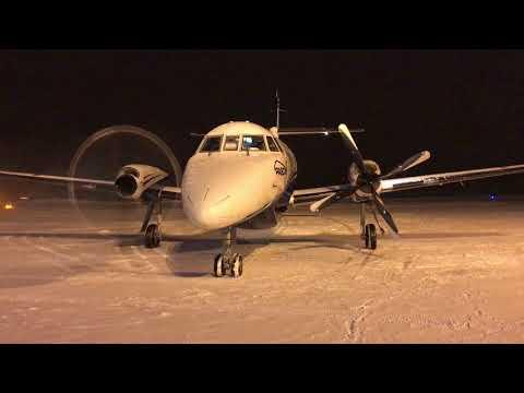 Pascan | BAe JetStream 32 engine start | C-FFPA | Val-d'Or (CYVO)