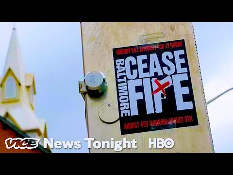 """""""Nobody Kill Anybody"""": Baltimore Calls For Weekend Ceasefire (HBO)"""