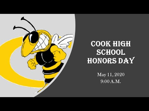 Cook High School Honors Day Spring 2020