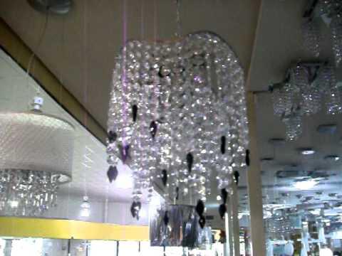 Lustre Acrlico Luminria Teto no Mercado Livre  YouTube