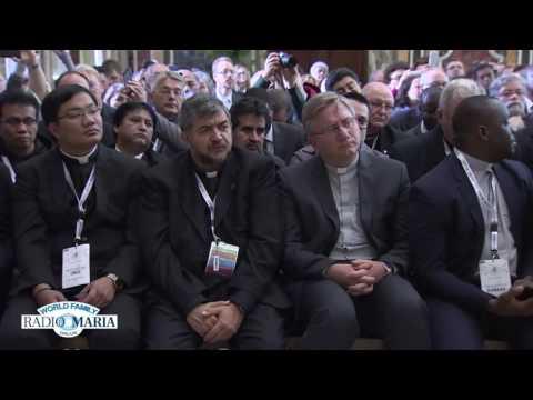 2015 10 29 Pope Audience Radio Maria Vatican