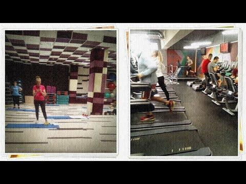 252 Как проходит мой Фитнес День в клубе СССР   от 73 до 72 кг
