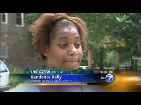 Students spruce up West Side school grounds at Al Raby School from abc7chicago.com