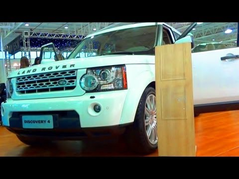 SHOWROOM 2013 Land Rover Discovery 4 @ Sal?o do Autom?vel de Curitiba