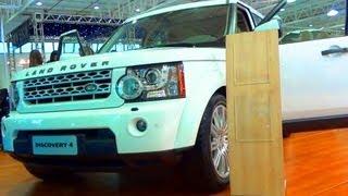 SHOWROOM 2013 Land Rover Discovery 4 @ Sal?o do Autom?vel de Curitiba