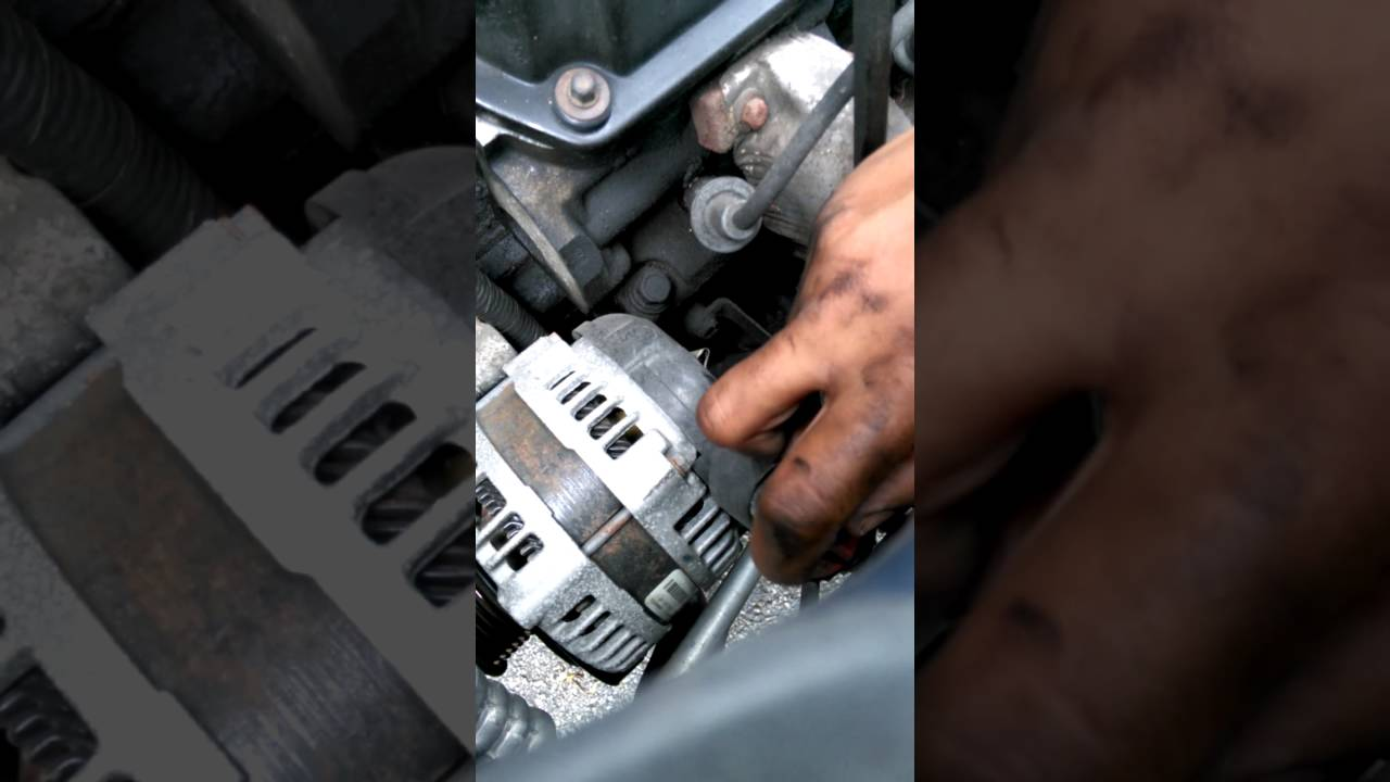 2003 Chrysler Town And Country 3 8 Alternator Pt 1