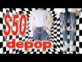 $50 Depop Outfit Challenge