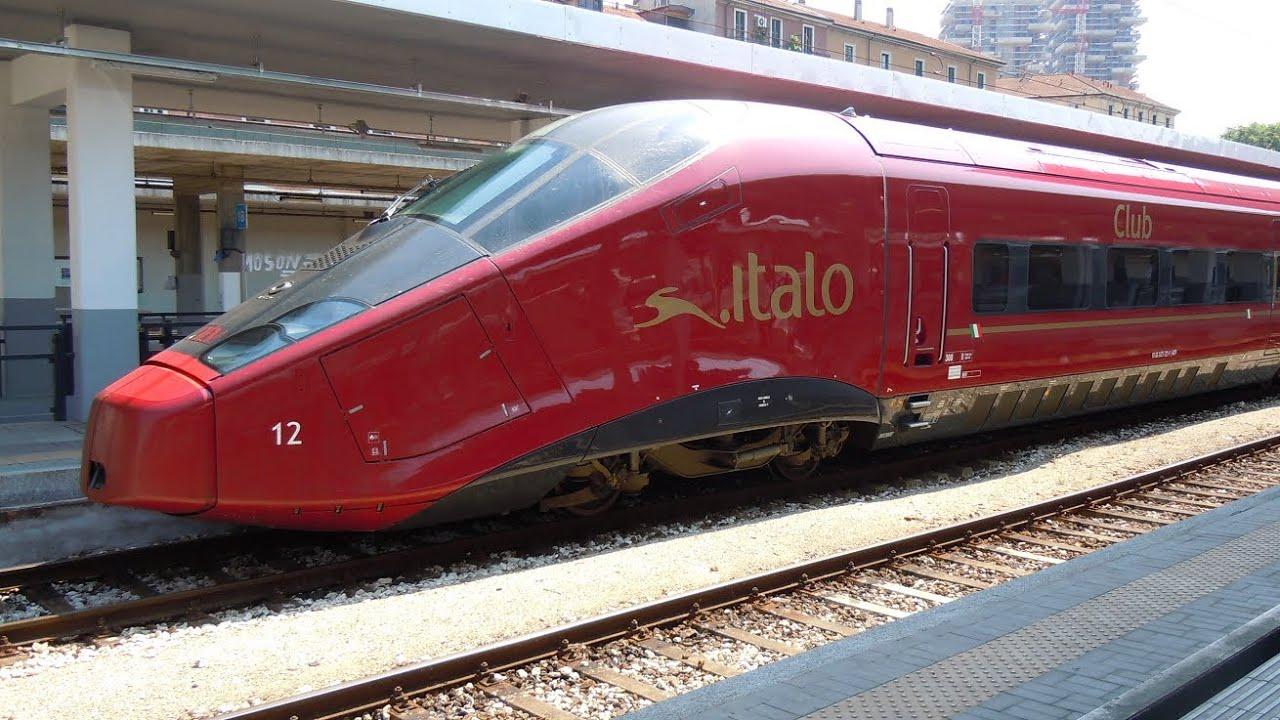 Italo treno italo ntv milano porta garibaldi it - Binario italo porta garibaldi ...