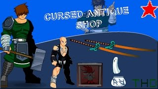 aqwguia das quests e itens de cursed antique shop 2016