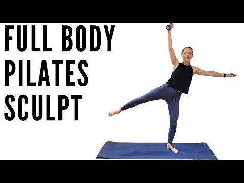TOTAL BODY PILATES SCULPT (with DUMBBELLS) 25 MINUTES