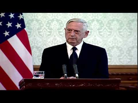 Kabul airport attacked just hours after Mattis arrival