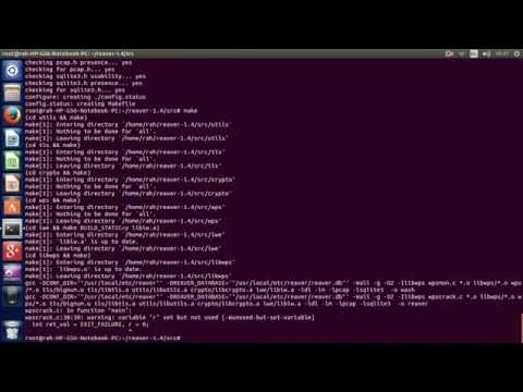 How to install Reaver 1.4 on Linux Ubuntu