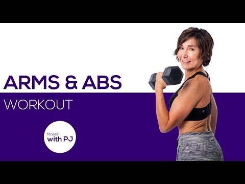 45-Minute Arms & Abs Workout for Women 🌷